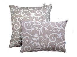 Подушка с шариковым силиконом, бязь, Орнамент2 (50х70 см.)