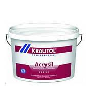 Краска Krautol Acrysil B3(прозрачная) силиконо-модифицированная 9.4л.(после колеровки 10л.)