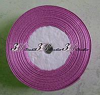 Лента атласная цвет №14(20) (сочно-сиреневый) шириной 2,5 см