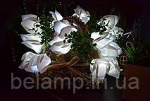 Гирлянда из 10 тюльпанов (20 лампочек) на батарейках