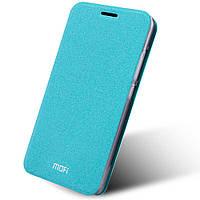 Чехол книжка MOFI Rui Series для Lenovo K5 Note голубой