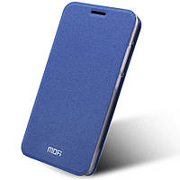 Чехол книжка MOFI Rui Series для Lenovo K5 Note синий