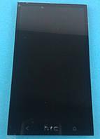 Дисплей с сенсорным экраном HTC One M7 (801e/802w) black