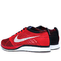 Мужские кроссовки Nike Flyknit Racer University Red 526628-610, Найк Флайнит, фото 3