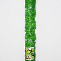 Сетка пластиковая (огуречка) 130млм х 150млм 1,7м х 500м зеленая.