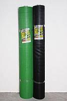 """Сетка пластиковая (""""птичка"""") 30млм х 35млм 1,5м х100м черная"""