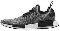 Мужские кроссовки Adidas Nmd Runner R1 Pack Boost Oreo Black, адидас