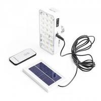 Лампа-фонарь на солнечной батарее с ПДУ аккумуляторная YAJIA 9817