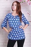 Летняя женская стильная блуза большие размеры.