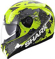 """Шлем SHARK S700 SQUAD blackfluo yellow """"""""XL"""""""" HE0415EYKW"""""""""""