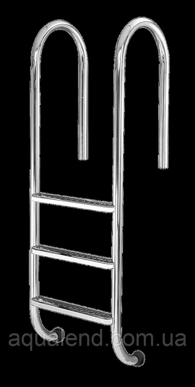 Сходи для басейну 5 ступенів Standart (Muro) сталь 304, виробництво Україна