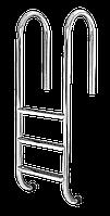 Лестница для бассейна 3 ступени Standart (Muro) сталь 304, производство Украина