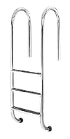 Лестница для бассейна 5 ступеней Standart (Muro) сталь 304, производство Украина