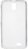 Чехол для Lenovo A328 - Melkco Poly Jacket TPU, прозрачный (пленка в комплекте)