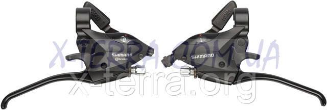 Моноблоки велосипедные Shimano ST-EF50 (3*8)