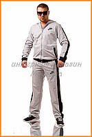 Спортивный костюм Nike мужской | светло-серый