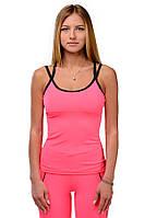 Женская майка для спорта розовая PANTERA PINK
