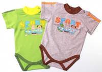 Бодик-футболка на лето для мальчика Sport (6-18 мес)