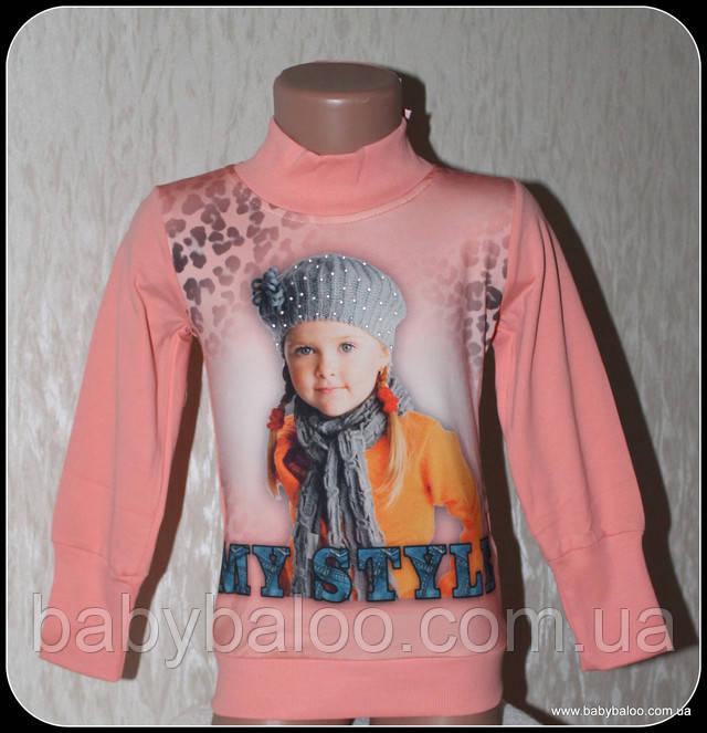 """Гольф-стойка девочка """"My Style"""" (от 3 до 6 лет)начёс"""