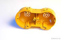 Коробка монтажная электрическая КМЭ-2 (блок 2-гнездовой)