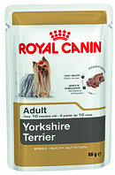 Консерва-паштет для собак породы йоркширский терьер Royal Canin Yorkshire Terrier