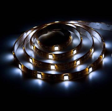 Светодиодная лента 12в в силиконе - Feron LS607 5050 30шт/м 7.2Вт (белая холодная), фото 2