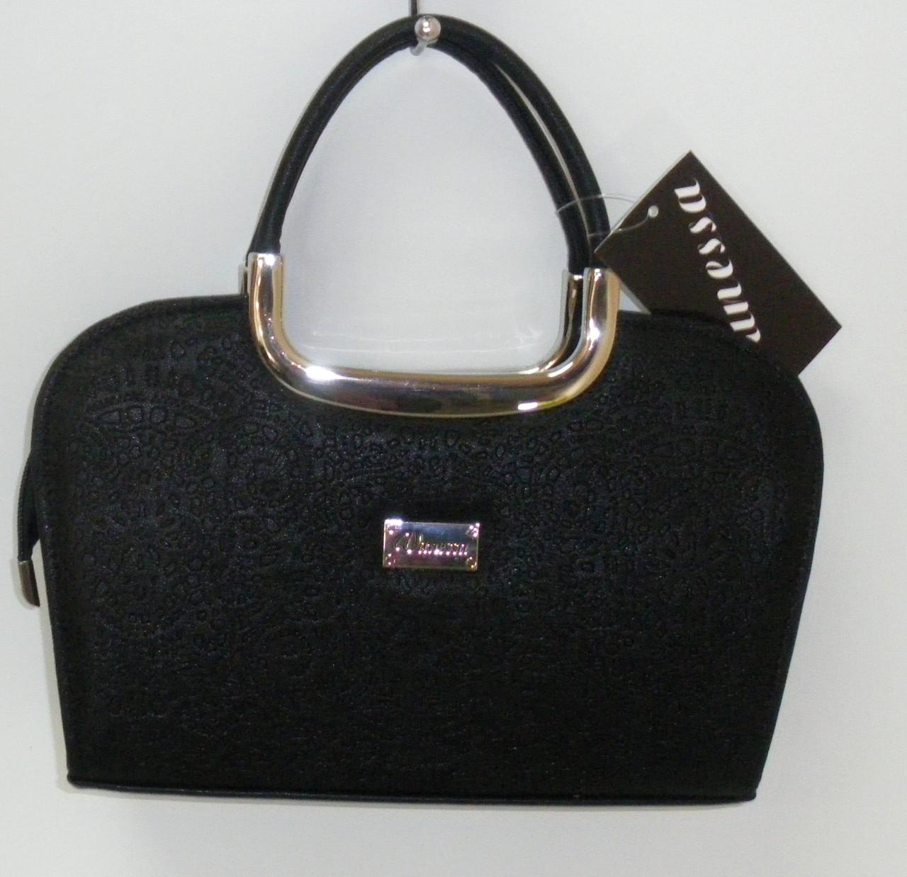 134cb18d97d1 Женская сумка-ридикюль черная: кожаная - Vanessa: продажа, цена в ...