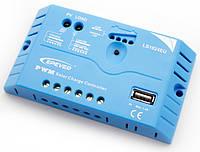 Контроллер заряда аккумулятора EPSolar (10А, 12/24В, PWM, USB) LS1024EU