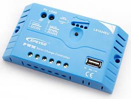 Контроллер заряда солнечной батареи EPSolar 10А-12/24В-USB LS1024EU