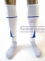 Гетры футбольные Liga Sport (Белый+синий)