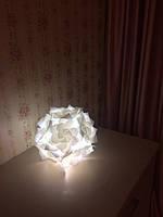 Уютница как настольный светильник. Фото от хозяйки лампы-уютницы