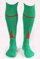 Гетры футбольные Liga Sport (зеленый+красный)