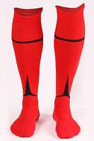 Гетры футбольные Liga Sport (красный+черный)