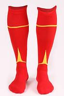 Гетры футбольные Liga Sport (красный+желтый), фото 1