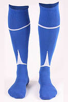 Гетры футбольные Liga Sport (синий+белый)