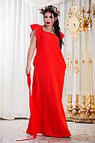 Д297 Платье в пол  в расцветках размеры 48-54, фото 3