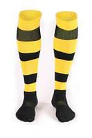 Гетры футбольные Liga Sport (желтый+черный)