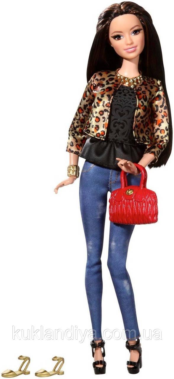 Кукла Барби модница Ракель в леопардовом жакете - Barbie Style