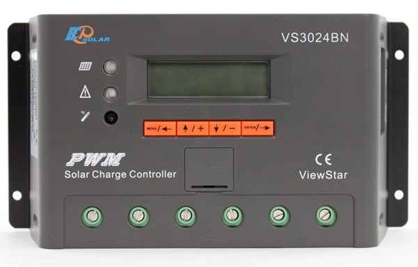 Контроллер заряда солнечной батареи EPSolar 30А-12/24В VS3024BN