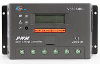 Контроллер заряда аккумулятора EPSolar (30А, 12/24В, PWM) VS3024BN