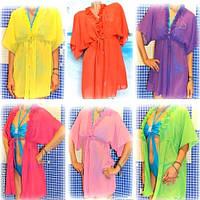 Туника - платье пляж, любой цвет, длина и размер, по Вашим данным. Только опт, предоплата на карту Приват.