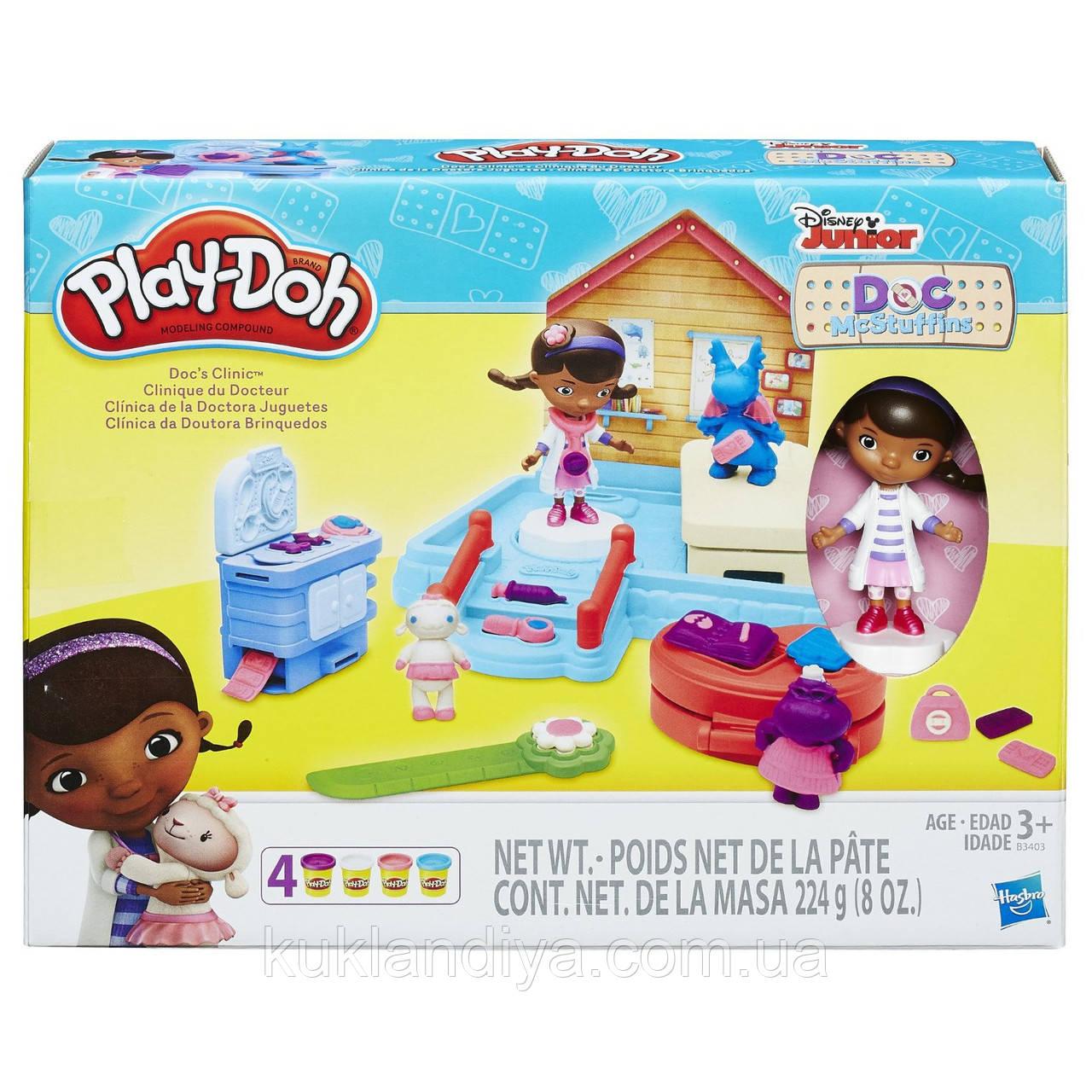 Play-Doh Клиника доктора Плюшевой Disney Doc McStuffins