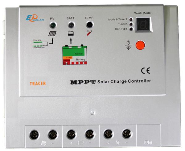 Контроллер заряда солнечной батареи MPPT EPSolar 20А-12/24В Tracer-2215RN