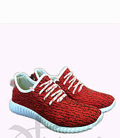 Трендовые молодежные кроссовки Красные