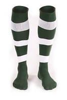 Гетры футбольные Liga Sport (зеленый+белый), фото 1