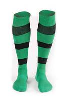 Гетры футбольные Liga Sport (зеленый+черный), фото 1