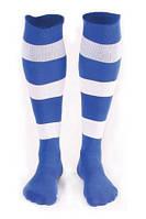 Гетры футбольные Liga Sport (синий+белый), фото 1