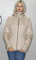 Купить куртку осеннюю из плащевки лаке Разные цвета