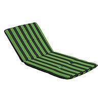 Подушка-матрас Dajar Mona Hoch зеленая 48*112 см