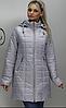 Куртка осенняя удлиненная  ( Разные цвета), фото 8